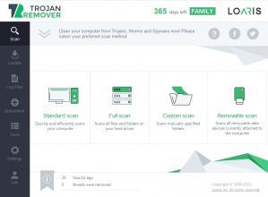 Loaris Trojan Remover Screenshot