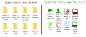 Change My Folder Icon Screenshot