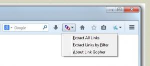 Link Gopher for Firefox Screenshot