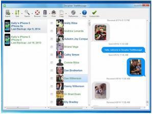Decipher TextMessage Screenshot