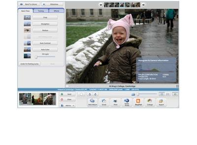 Picasa Photo Organizer Screenshot