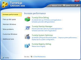 TuneUp Screenshot