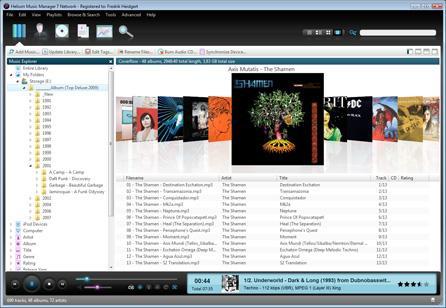 Helium Music Manager Screenshot