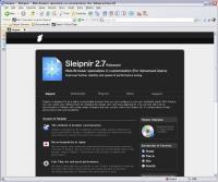 Sleipnir Screenshot