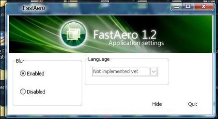 Fast Aero Screenshot