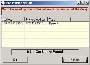 Anti Netcut Screenshot