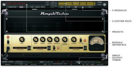 Amplitube Screenshot