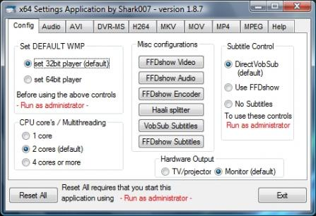 Advanced x64ComponentsPM for Windows 7 / 8.1 / 10 Screenshot