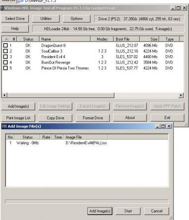 WinHIIP Screenshot