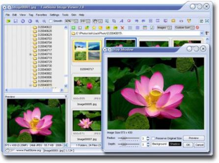 Portable FastStone Image Viewer Screenshot