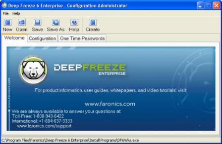 Deep Freeze Server Enterprise Screenshot