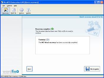 WordFIX Screenshot