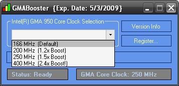 GMABooster Screenshot