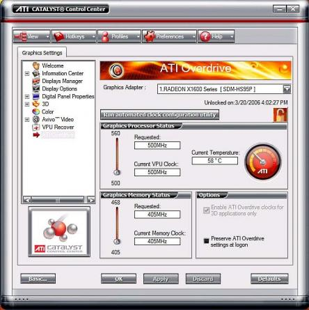 AMD Display Driver / Windows 7/8/10 32bit Screenshot