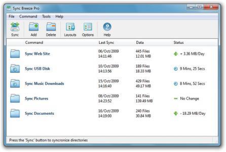 SyncBreeze Screenshot