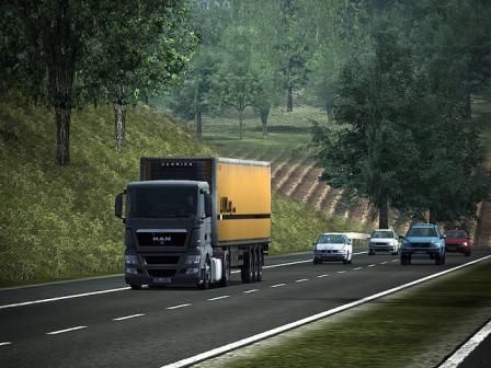 German Truck Simulator Screenshot