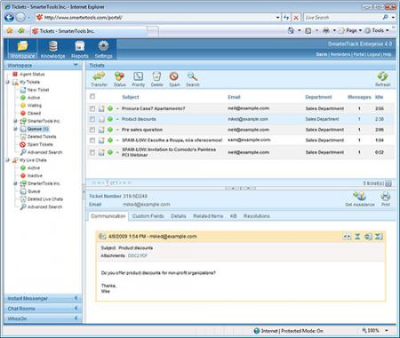 SmarterTrack Screenshot