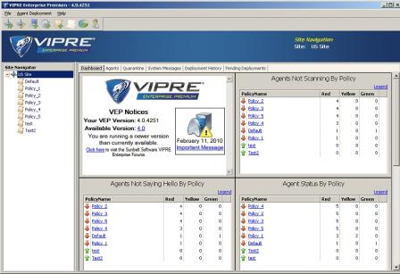 Vipre Definition Files Screenshot