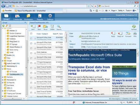 SmarterMail Screenshot