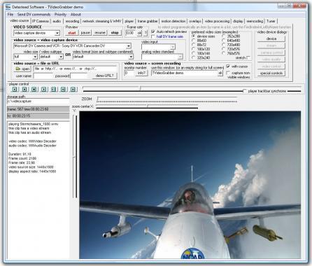 TVideoGrabber .NET Video SDK Screenshot