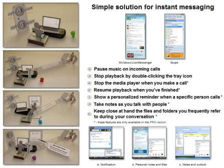 Messenger Assist Screenshot