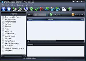 Portable Wise Registry Cleaner Screenshot