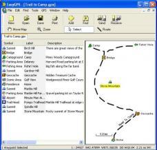 EasyGPS Screenshot