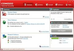 COMODO Internet Security Screenshot