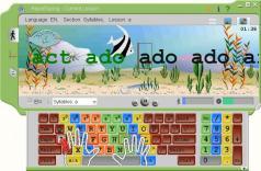 RapidTyping Typing Tutor Screenshot