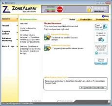 ZoneAlarm Pro Antivirus + Firewall Screenshot