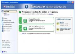 ZoneAlarm Security Suite Screenshot
