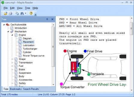 Maple Reader Screenshot