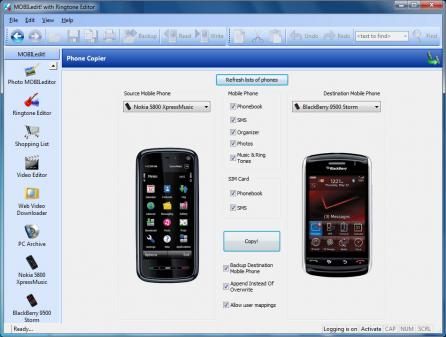 MOBILedit Enterprise Screenshot