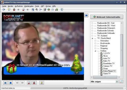 onlineTV Screenshot