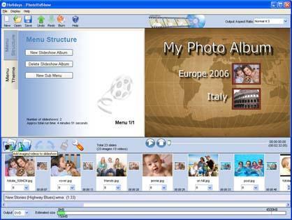 PhotoVidShow Screenshot