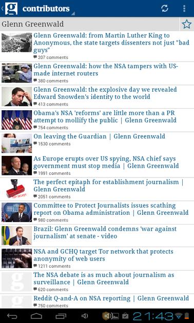 Guardian contributors