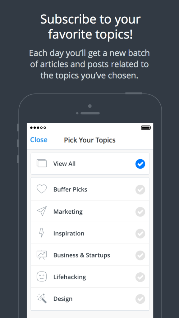 Daily by Buffer