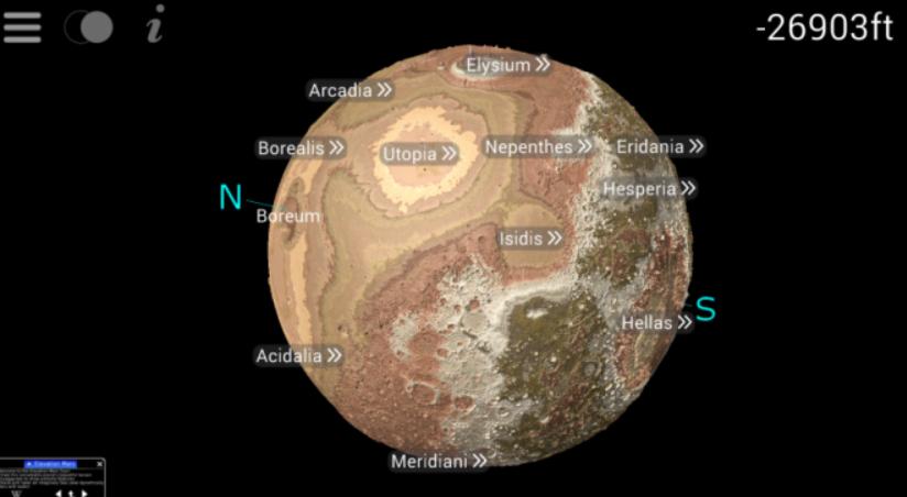 Elevation Mars 2