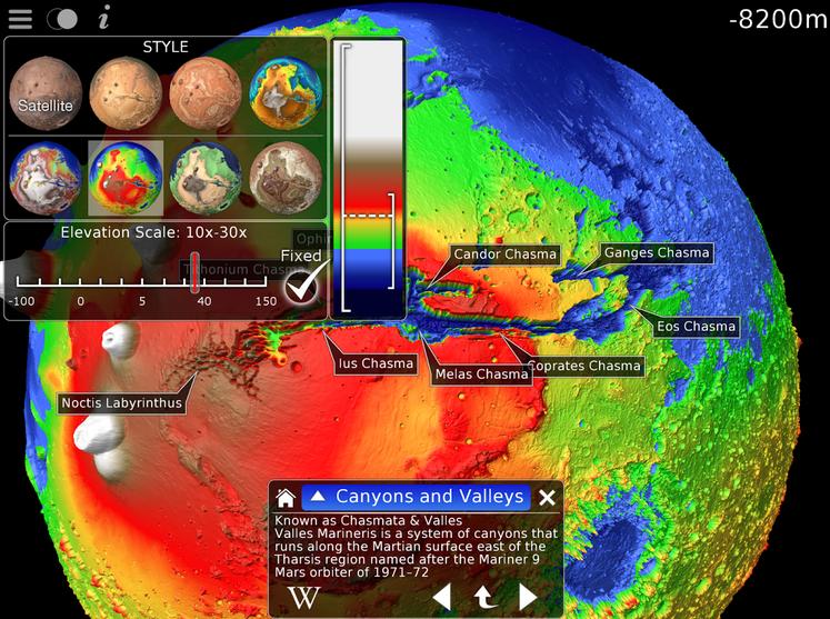 Elevation Mars screenshot