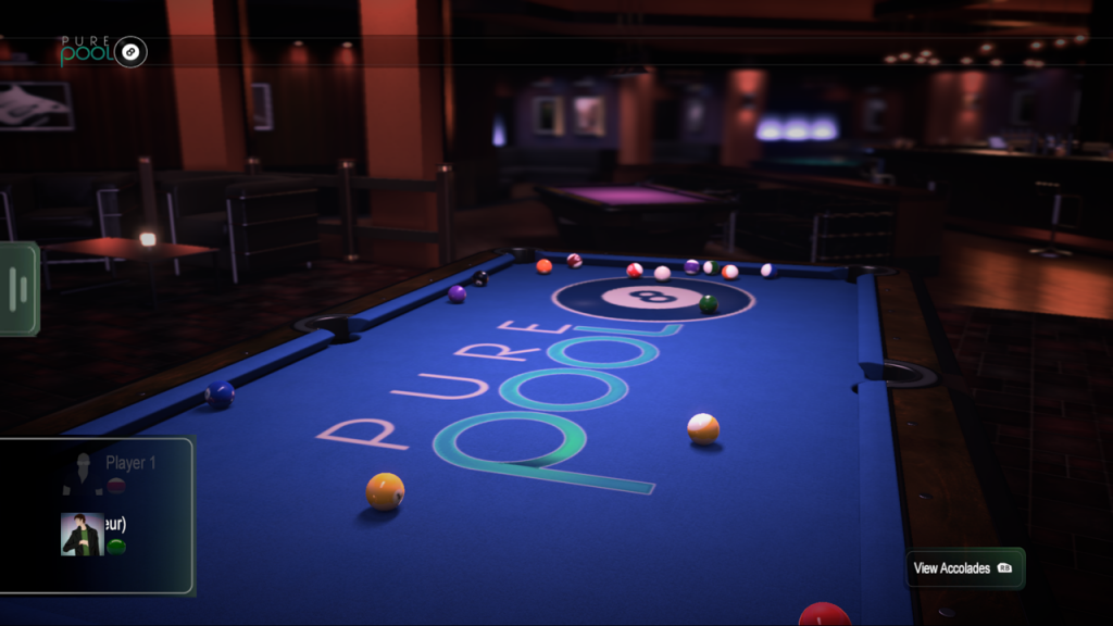 Pure Pool Gameplay