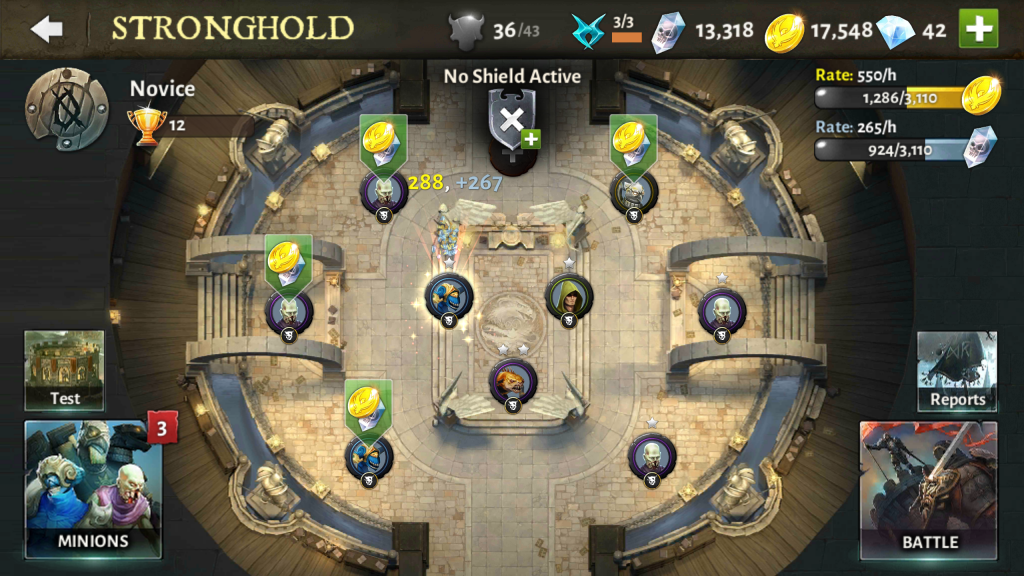 Strongholds Overview