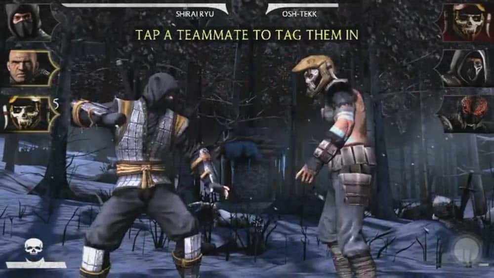 Mortal Kombat X - Tag in teammate