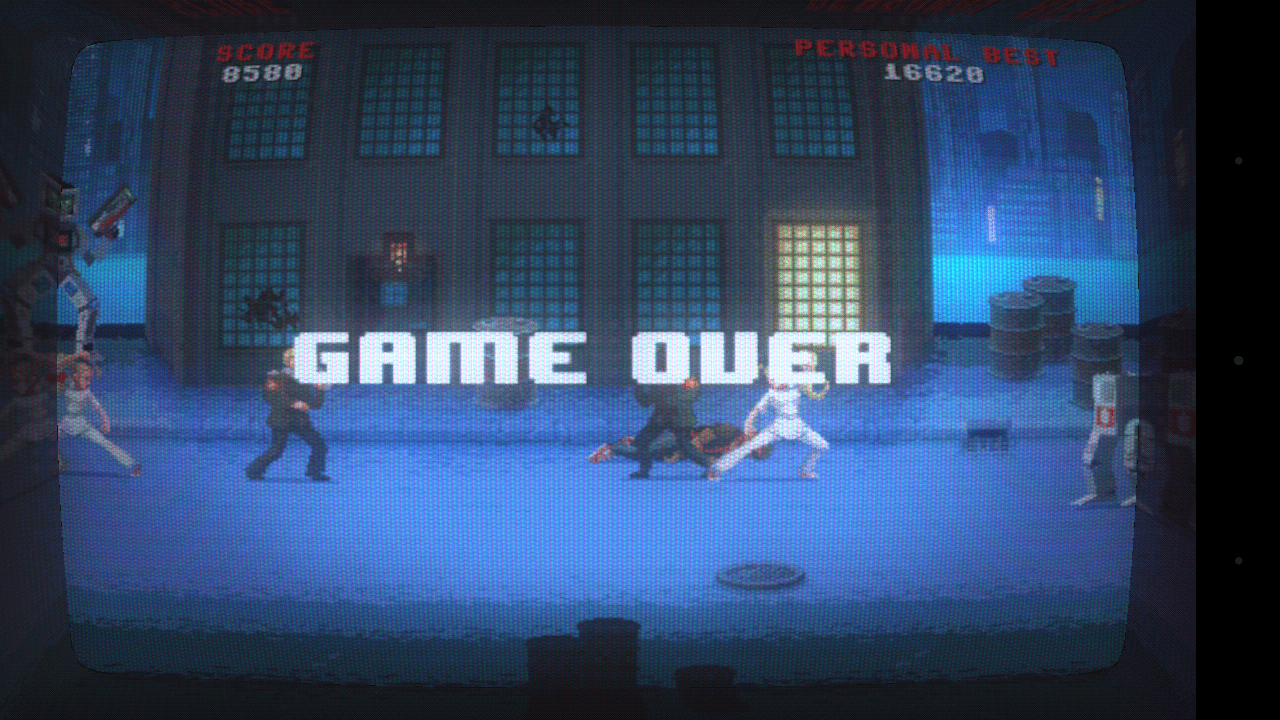 Kung Fury Game Over
