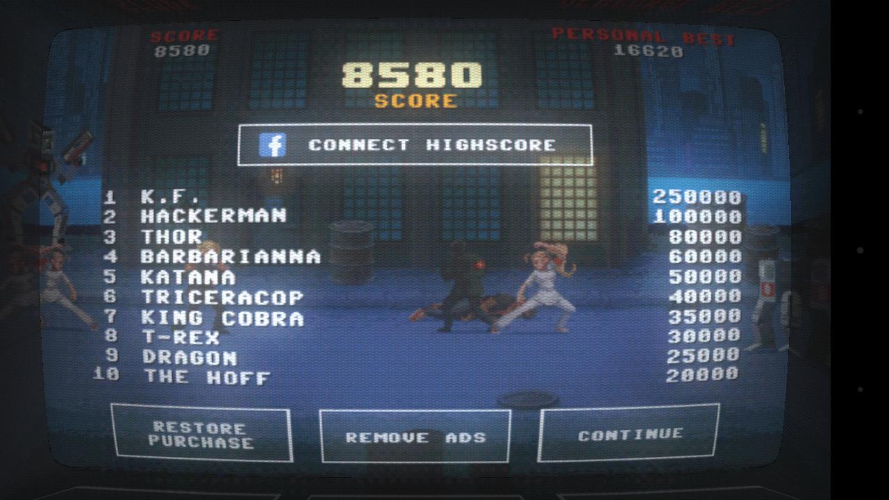 Kung Fury Score