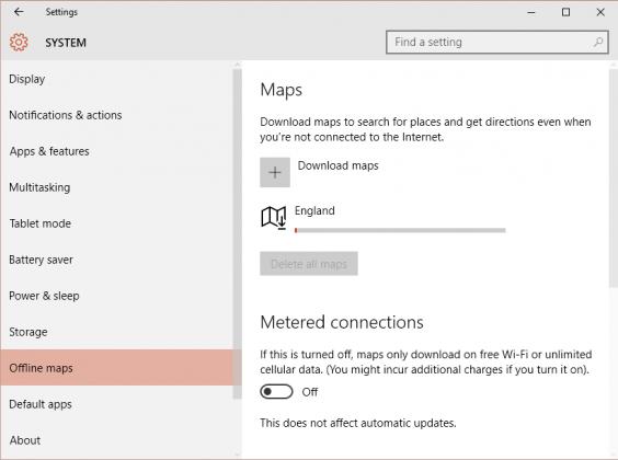 Windows 10 Offline Maps