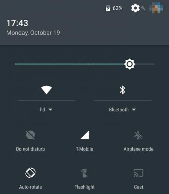 Android Marshmallow - Do Not Disturb quick toggle