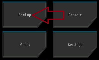Nandroid Backup TWRP