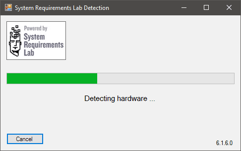 System Requirements Lab Detection