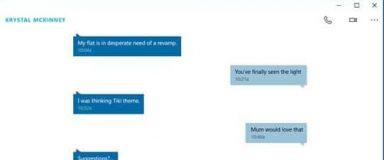 Messaging + Skype