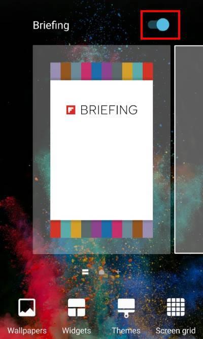Samsung Galaxy S7 - Disable Flipboard Briefing screen